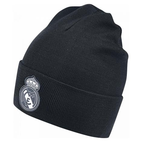 Dětská čepice adidas Real 3S Woolie Černá