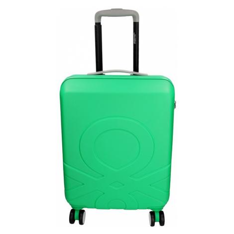 Kabinový cestovní kufr United Colors of Benetton Timis - zelená 34l