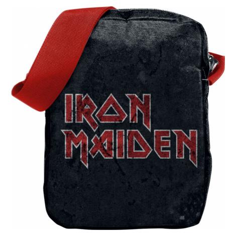 Iron Maiden Logo Taška pres rameno černá