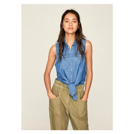 Calvin Klein Pepe Jeans dámská denim košile Wave