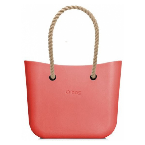 O bag kabelka MINI Coral s dlouhými provazy natural