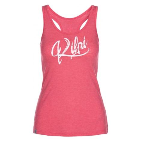 Women's functional tank top Ariana-w pink - Kilpi