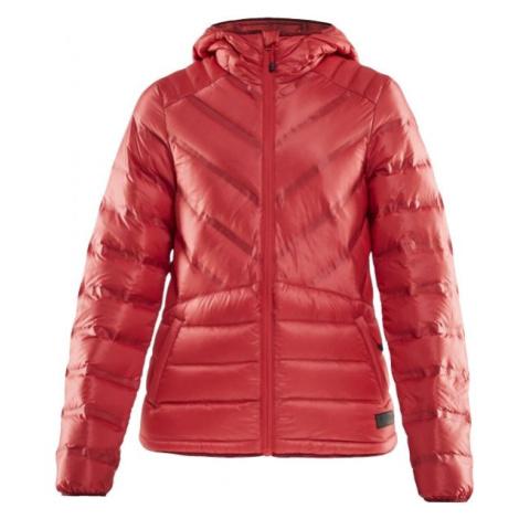 Craft LIGHTWEIGHT DOWN červená - Dámská zimní bunda