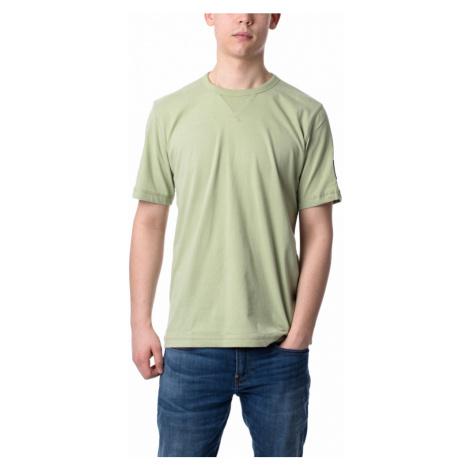 Calvin Klein pánské zelené tričko Badge