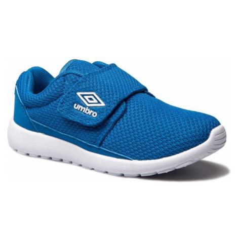 Umbro SHERRATT JNR modrá - Dětská volnočasová obuv