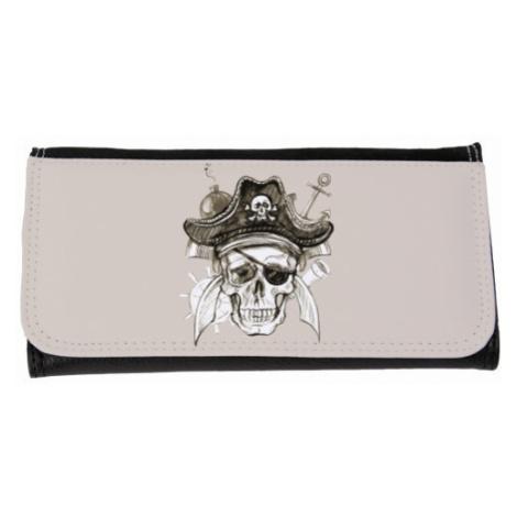 Peněženka velká Pirátská lebka