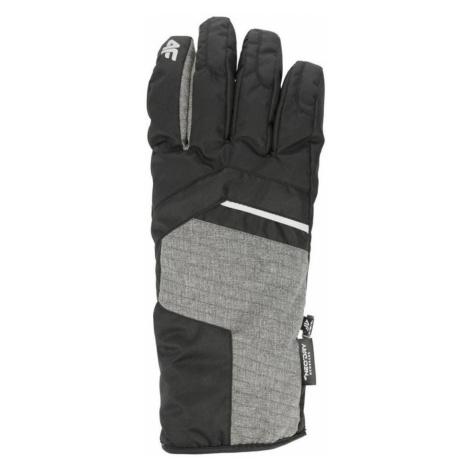 Pánské lyžařské rukavice H4Z19-REM003-20S DEEP BLACK 4F