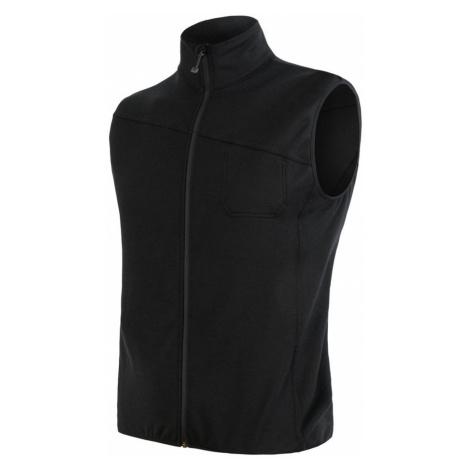 MERINO EXTREME Pánská hřejivá funkční vesta 19200035 černá Sensor