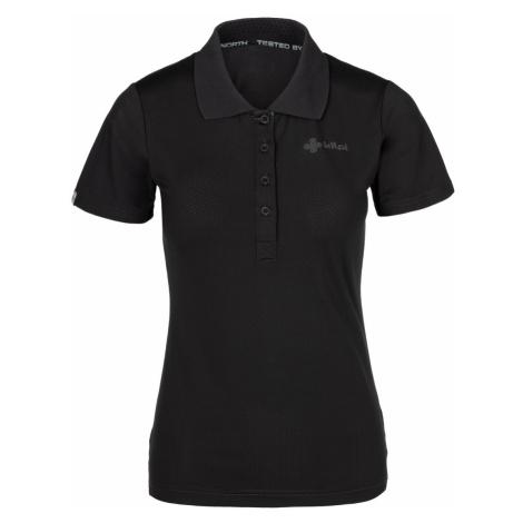 Dámské polo tričko KILPI COLLAR-W černá