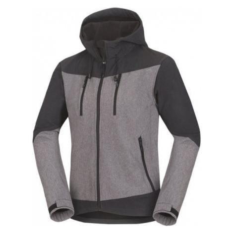 Northfinder LIROY šedá - Pánská softshellová bunda