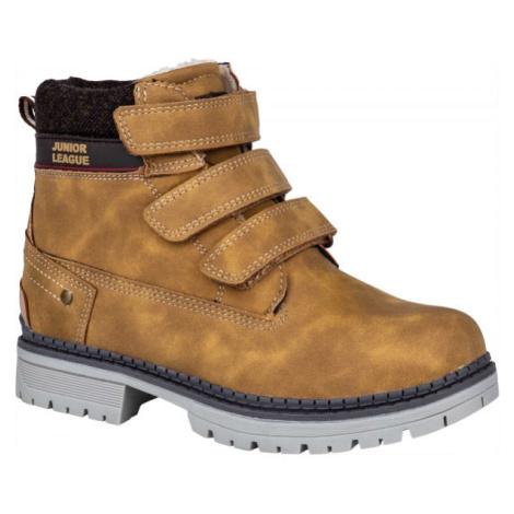 Junior League GRENA hnědá - Dětská zimní obuv