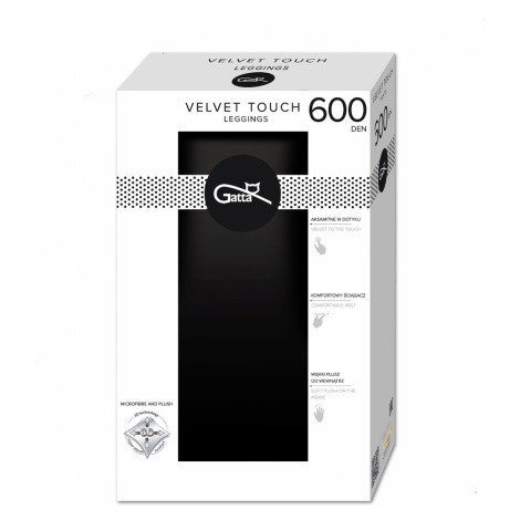 Dámské legíny Gatta Velvet Touch 2-4 600 den