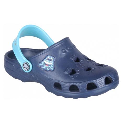 COQUI LITTLE FROG Dětské sandály 8701-127 Navy/Blue