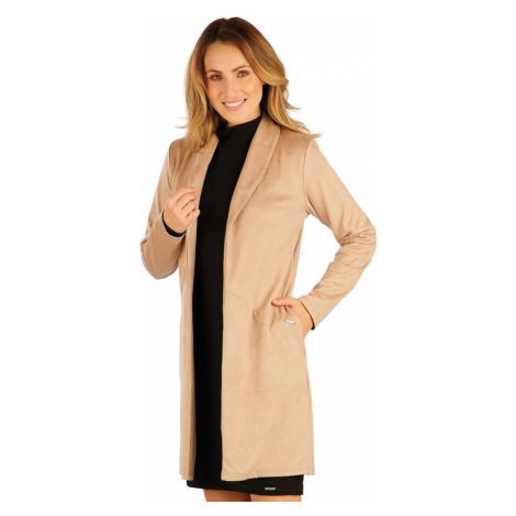 LITEX Kabátek dámský s dlouhým rukávem 7A085402 béžová