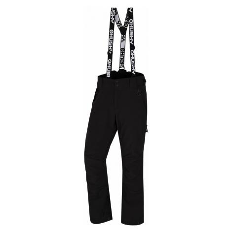 Husky Galti M, černá Pánské lyžařské kalhoty