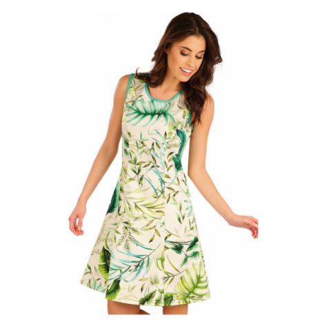 Dámské šaty bez rukávu Litex 5A122   tisk