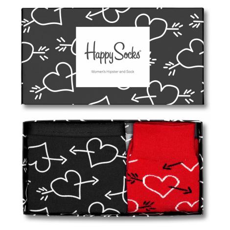 Dárková krabička Happy Socks Arrows and Hearts, Dámská