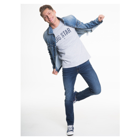 Big Star Man's Jacket 130165 Light Jeans-230