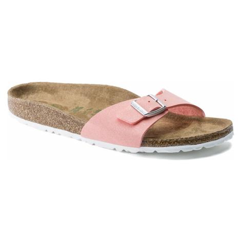Birkenstock Madrid BS Vegan Brushed Flamingo Narrow Fit růžové 1016233
