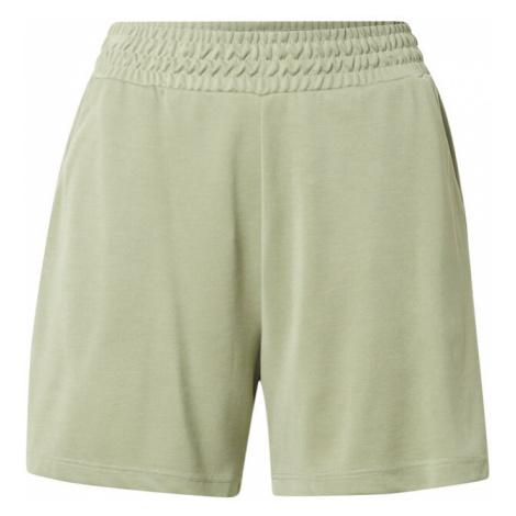 Mbym Kalhoty 'Flannery' světle zelená