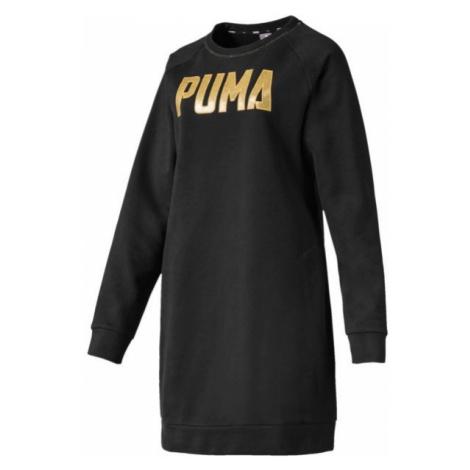 Puma ATHLETICS DRESS FL černá - Dámské šaty
