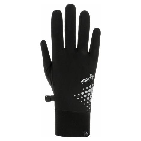 Unisex strečové rukavice KILPI CASPI-U černá