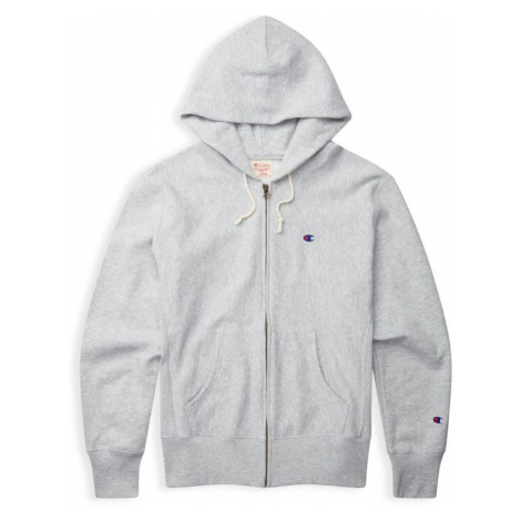 MIKINA CHAMPION Hooded Full Zip - šedá