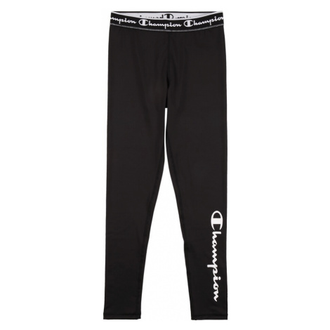 Champion Authentic Athletic Apparel Legíny černá / bílá