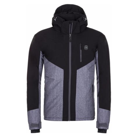 KILPI Pánská lyžařská bunda - větší velikosti TAUREN-M LMX042KIDGY Tmavě šedá