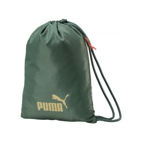 Puma Wmn Core Gym Sack Seasonal Zelená