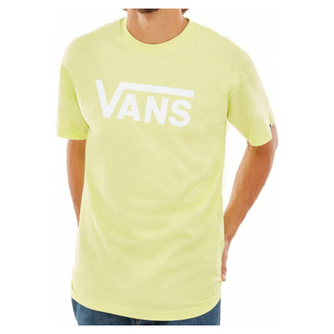 Tričko Vans Classic sunny lime-white