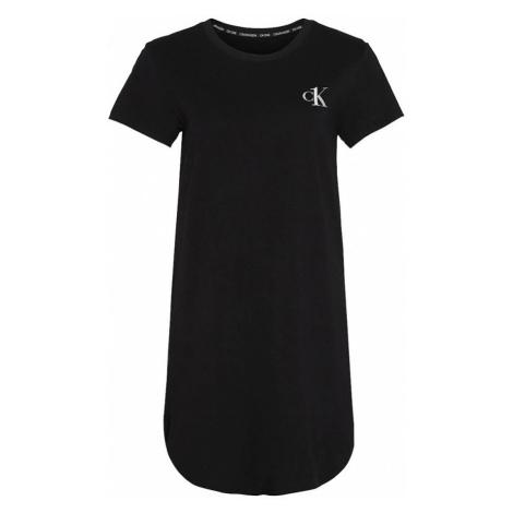 Calvin Klein Calvin Klein dámská černá noční košile CK ONE