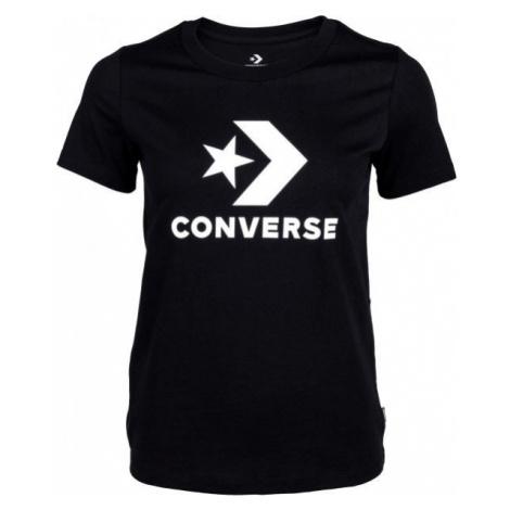 Converse STAR CHEVRON TEE černá - Dámské tričko