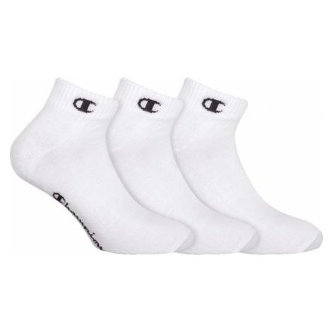 CHAMPION ANKLE SOCKS LEGACY 3x - Sportovní kotníkové ponožky 3 páry - bílá