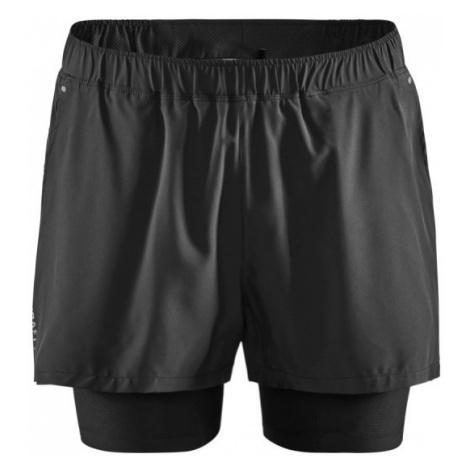 Pánské šortky CRAFT ADV Essence 2v1 černá