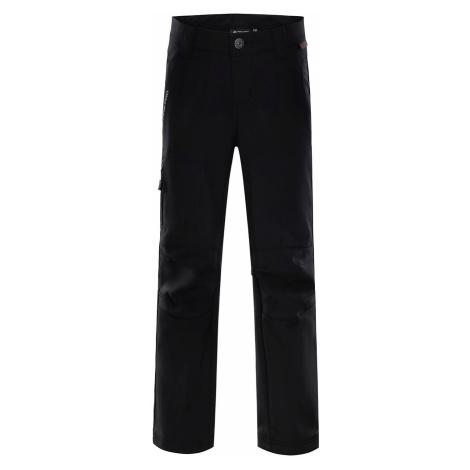 Dětské kalhoty Alpine Pro PLATAN 2 INS. - černá