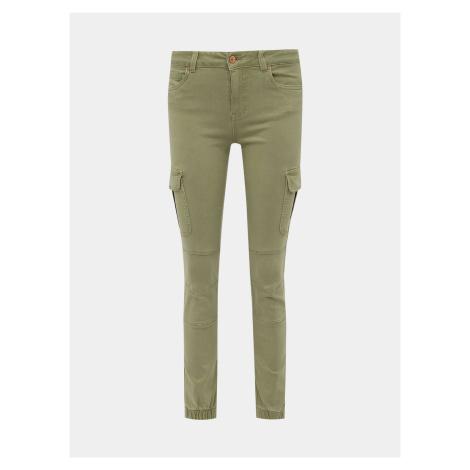 Světle zelené skinny fit džíny ONLY Missouri