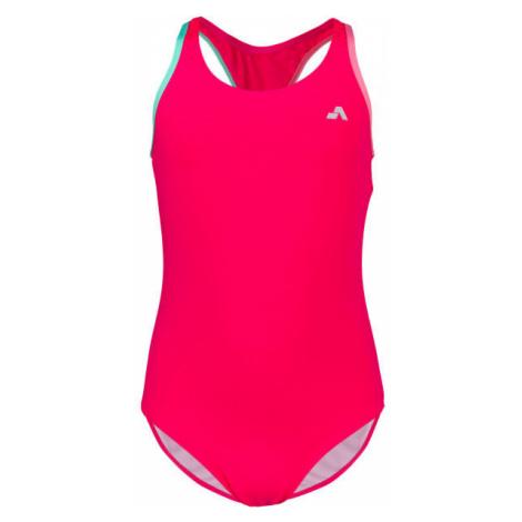 Aress MERMAID růžová - Dívčí jednodílné plavky