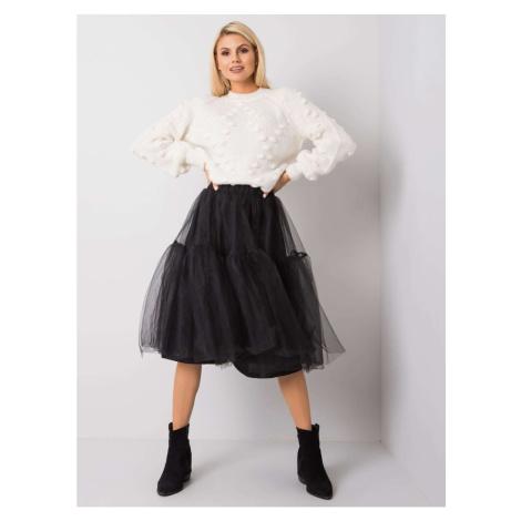 RUE PARIS Black tulle skirt Fashionhunters