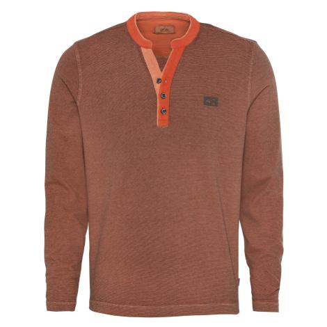 Tričko Camel Active H-Sweatshirts - Oranžová