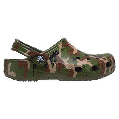 Pánské boty Crocs CLASSIC CAMO zelená