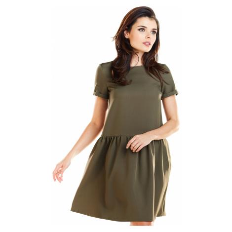 Dámské Mini krátké šaty s krátkým rukávem v různých barvách