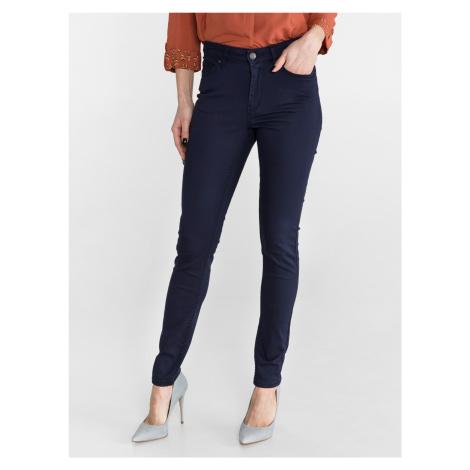 Kalhoty Vero Moda Modrá