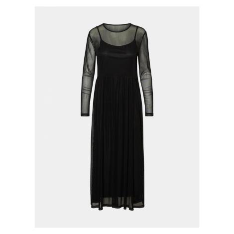 Černé šaty Noisy May Ember