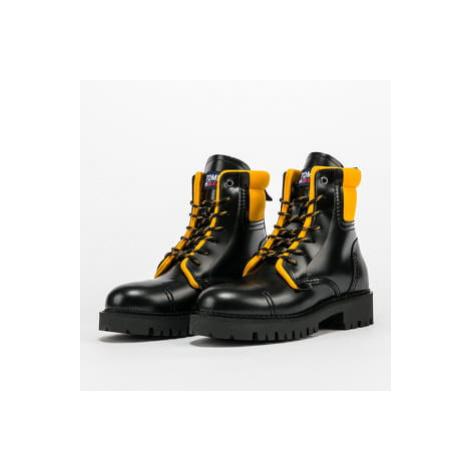 TOMMY JEANS Fashion Pop Color Boot black / golden bronze Tommy Hilfiger
