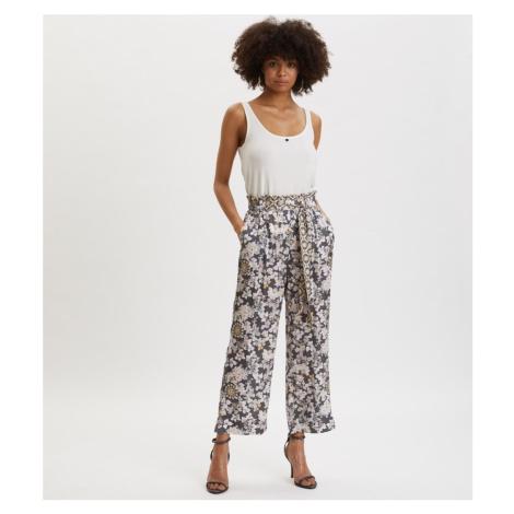 Kalhoty Odd Molly Pretty Printed Pants - Černá