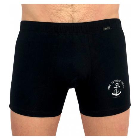 Pánské boxerky Andrie černé (PS 5389 C)
