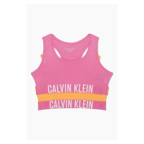 PRO DĚTI! Calvin Klein 2 balení Girls Braletky -orange/pink