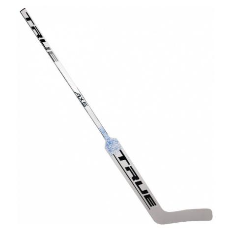Brankářská hokejka True AX5 SR, černá, TC levá ruka dole,