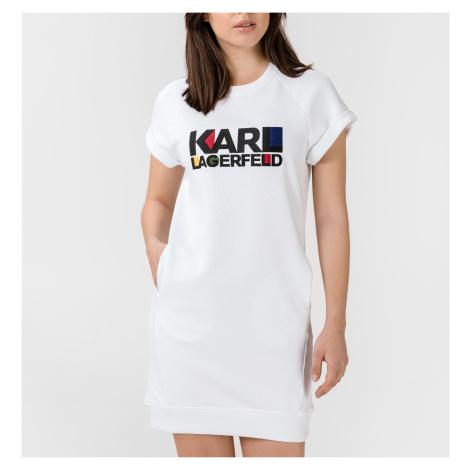Bílé šaty - KARL LAGERFELD | bauhaus